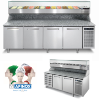 Pizza & Sandwich Prep Counters & Pan Coolers